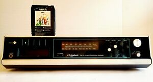 VNTG ELECTROPHONIC MULTIPLEX AM/FM 8 TRACK RECEIVER TESTED (SEE VIDEO) RARE!!!