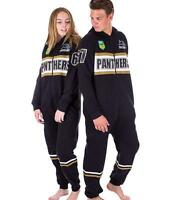 NRL Onesie Footy Suit - Penrith Panthers - Infant Kids Youth Adult - All Sizes