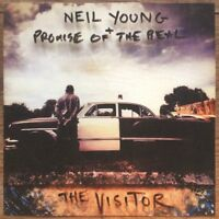 NEIL & PROMISE OF THE REAL YOUNG - THE VISITOR SOFTPAK  CD NEU