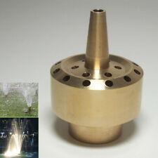 "1/2"" Solid Brass Column Fountain Nozzle Spray Head"