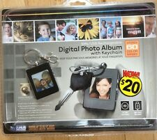 Digital Photo Album With Keychain, 1.4inch,black, innovage, NOS!