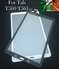 """For Samsung Galaxy Tab E 9.6"""" T560 T561 Touch Screen Digitizer Glass Lens White"""
