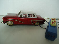 Vintage Rare Red China Tin Car Toy ME 746 60s,Battery Remote control ,MF,MS