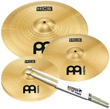 MEINL HCS141620 HCS Becken-Set + Keepdrum Drumsticks 1 Paar