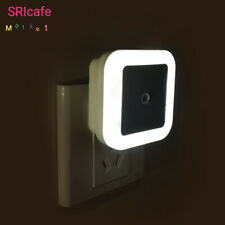 Sensor Light Control Night LED Lamp Mini Plug-in Children Kids Bedroom Lighting