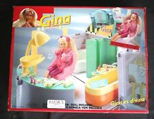 VINTAGE BATHROOM for GINA DOLL (BARBIE SIZE, VANITY). SPAIN 1991! BRAND NEW, OS!
