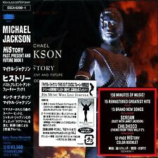 MICHAEL JACKSON - HISTORY  - JAPAN 2 CD JEWEL CASE 1998