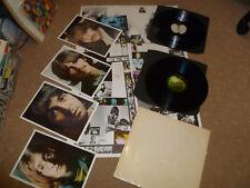 Beatles White Album *NO EMI txt* MONO Top UK Lp 1st PRESS No.0121268 PMC 7607
