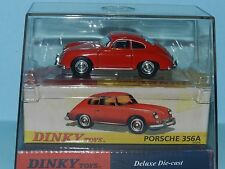 DINKY TOYS DY25/b By Mattel Porsche 356A  mint in Display Packaging