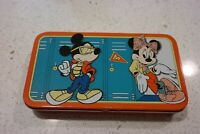 Cool Mickey and Minnie Mouse Disney Pencil Tin & Pencils ~ great for home school