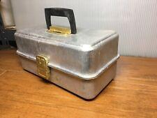 Vintage Umco 132As - 2 Tray Aluminum Fishing Tackle Box