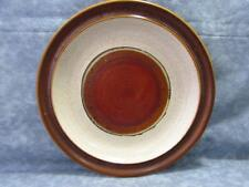 """Potter's Wheel Rust Red by Denby-Langley 8-1/4"""" Salad Plate Rust Red Center"""