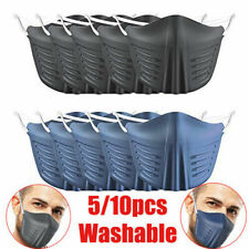 ycling PE Protective Face Mouth Shield Reusable Washable Anti-saliva Dustproof