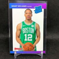 2019-20 Grant Williams Panini Retro Rated Rookie Card RC 1989 Donruss Celtics SP