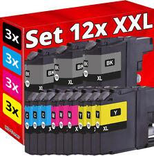 12 XL TINTE für BROTHER MFC-J680DW J5620DW J5625DW J5720DW DCP-J4120DW J562DW