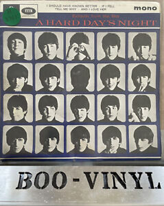 """The Beatles - Extracts From The Film A Hard Day's Night - UK 1964 7"""" Single EP"""