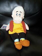 Geppetto Mini Bean Bag Pinocchio's Dad Woodcarver Plush Disney Store New