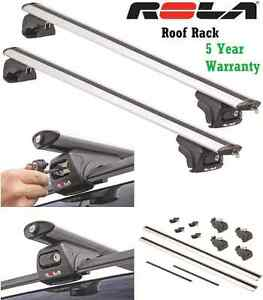 ROLA REMOVABLE ALUMINUM ROOF RACK 2000-2010 BMW X5 - 5YR MFG WARRANTY CROSS BARS