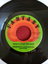 Creedence Clearwater Revival 45 Who'll Stop the Rain Travelin' Band EX