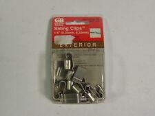 """Gardner Bender MSC-1014 Siding Clip 1/4"""" 15-Pack ! NEW !"""