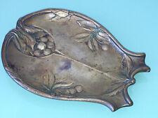 Vide Poche En Bronze Epoque Art Nouveau 1900 Signé H Paun