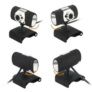 Laptop Web Cam with Microphone USB 12 Megapixel 480P Web Camera with Light