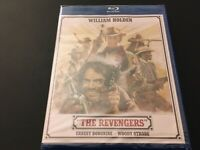 The Revengers (Blu-ray, 1972) William Holden, Ernest Borgnine, Woody Strode