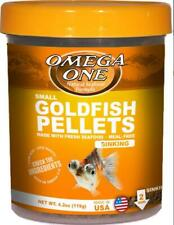 Omega One Small Goldfish Pellets 4.2 oz