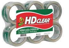 New Duck Hd Clear Heavy Duty Packing Tape Refill 188 Inch X 546 Yard 6 Roll