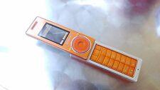Samsung SGH X830 - Orange (Unlocked) Cellular Phone
