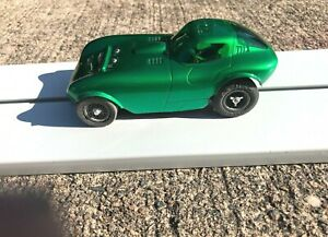VINTAGE 1/24 SCALE CHEETAH ON MODIFIED COX SIDEWINDER CHASSIS runs great