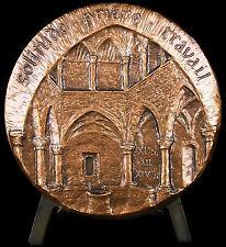 Médaille Monastère fortifié de l'abbaye de Lérins l'île Saint-Honorat 1984 médal