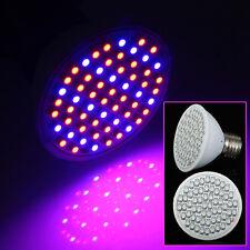 6W 60 LED E27 Pflanzenleuchte Pflanzenlicht Pflanzen Lampe Wachstums Promotion