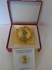 Vintage 1988 Goebel Hummel Collectors Club Looks Like Rain Christmas Ornament