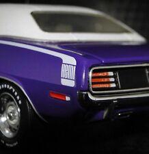 Hemi Cuda anni '70 Dodge Plymouth VINTAGE SPORT 1 24 Auto Carousel viola modello
