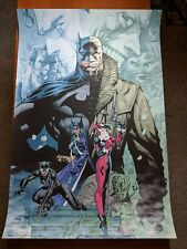 SDCC 2019 Hush Jim Lee Poster Print Art Mondo Comics DC