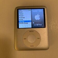 Vintage Apple iPod Nano 4GB Silver Model A1236 Pre-owned (no accessories)