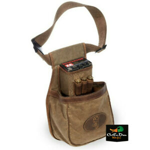 NEW BROWNING SANTE FE DELUXE LEATHER TRIMMED SHELL POUCH TRAP CARRIER