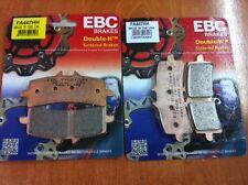 PASTILLAS DE FRENO DELANTERAS EBC HH TRIUMPH DAYTONA 675 R AÑO 12 13 14 2012