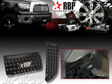 RBP BLACK POWDER COATED DIE CAST ALUMINUM BRAKE GAS PEDAL PADS TRUCK