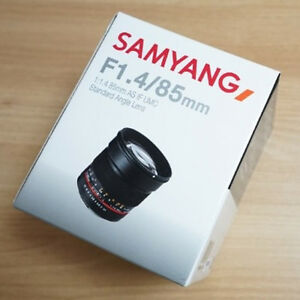 Samyang Optics 85mm F1.4 AS IF UMC Lens For Sony E Mount