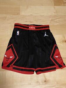 Authentic Nike Chicago Bulls Swingman City Shorts Size 38 L Mens NBA Jordan