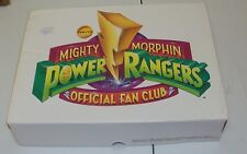 MIGHTY MORPHIN POWER RANGERS MMPR OFFICIAL FAN CLUB KIT 1994 SABAN UNUSED PINK