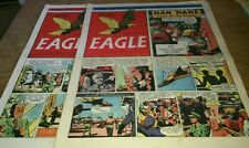 2 EAGLE COMICS 1951, TINTIN