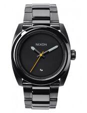 Nixon Men's A507131 Kingpin Gunmetal Stainless Steel Watch A507-131-00
