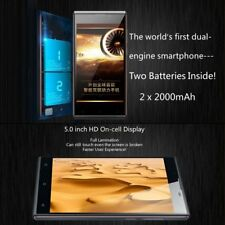 Gfive Gpower1 5.0 Inch Hd Display 2000Mah Dual Batteries Phone For Android Ln