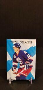 1992-93 Parkhurst Teemu Selanne #217 Winnipeg Jets HOF