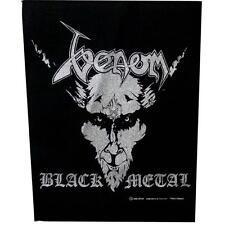 OFFICIAL LICENSED - VENOM - BLACK METAL BACK PATCH METAL THRASH