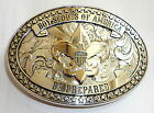 Boy Scouts of America Beautiful BSA Belt Buckle Order of the Arrow Eagle Gift