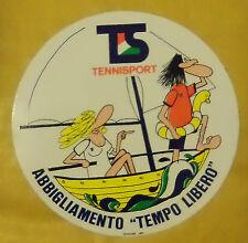VECCHIO ADESIVO - TENNISPORT - ANNI 80 (CC2)